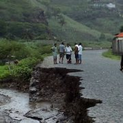 Repairs to Santo Antao roads