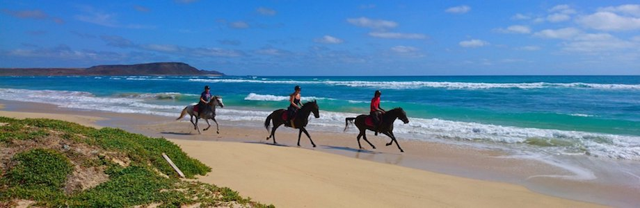 Horse excursions, Sal Cape Verde