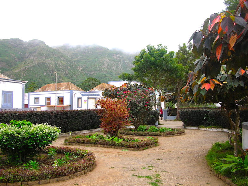 Nova Sintra park Brava Cape Verde