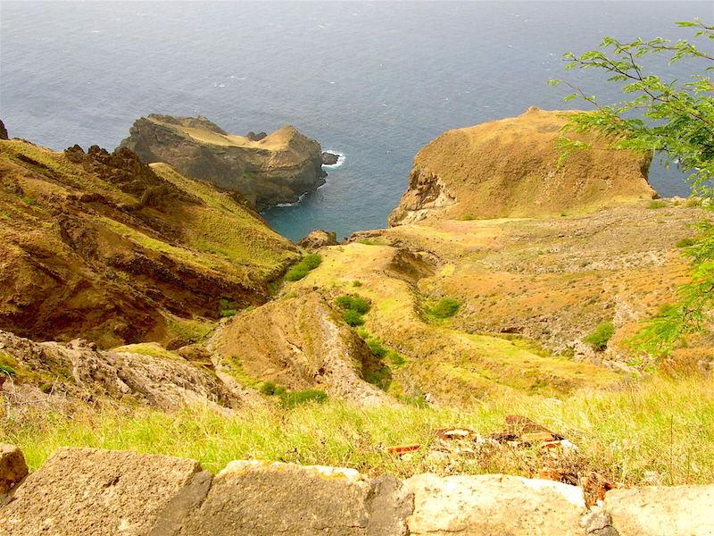 Coastline on Brava Cape Verde