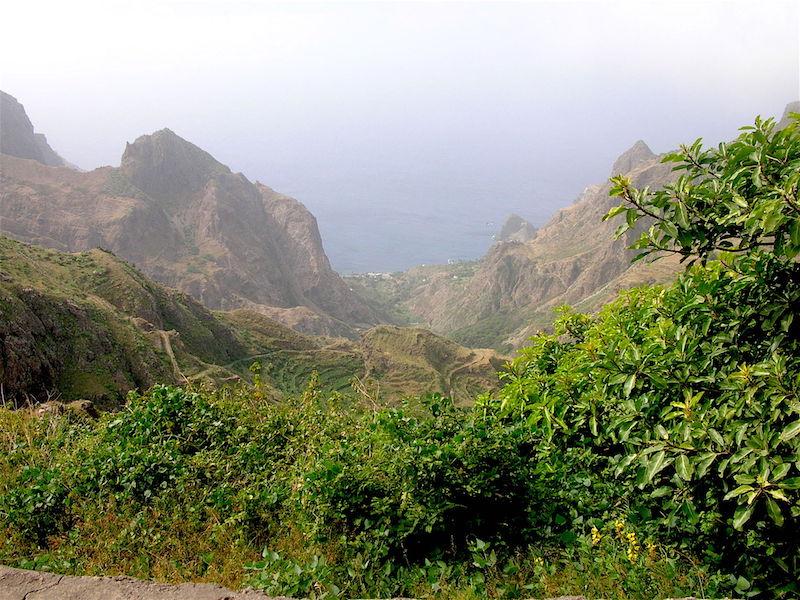 Mountains of Brava Cape Verde