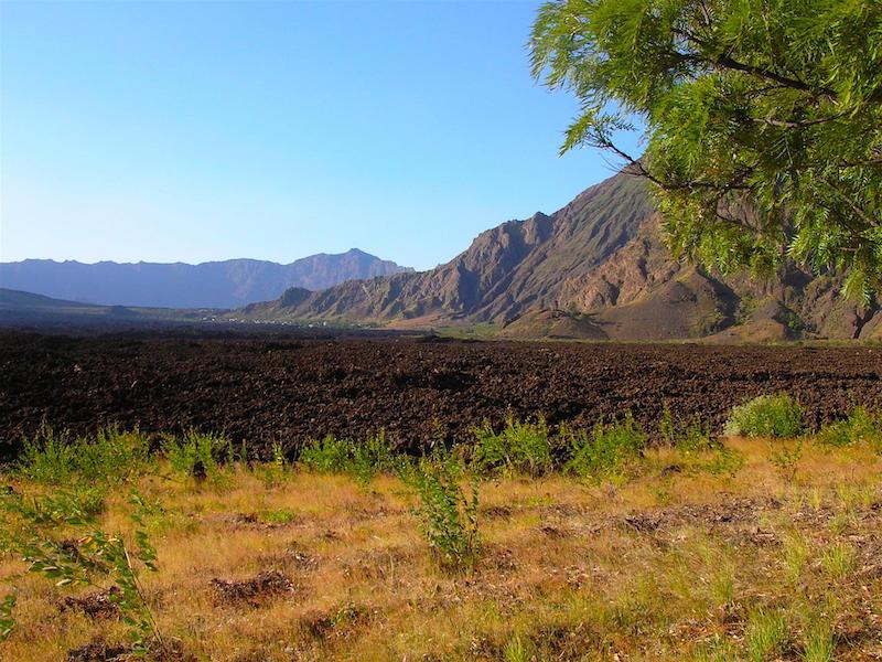 Landscape in Fogo