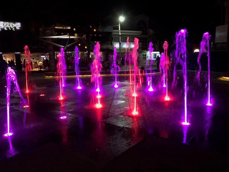 Fountains in Town Square Santa Maria Sal