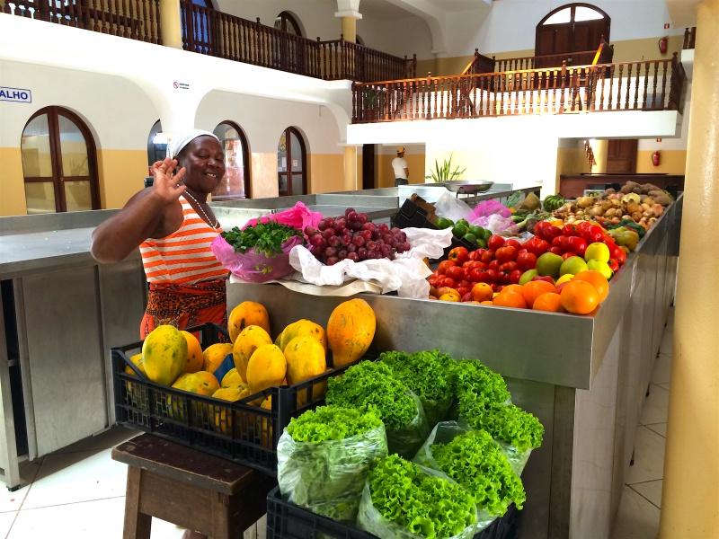 Market hall Santa Maria Sal