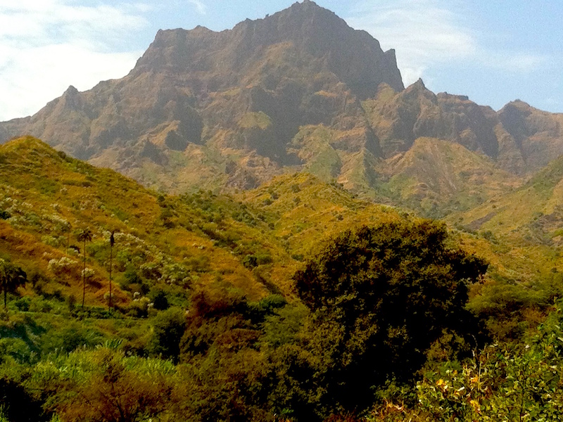 Mountains Santiago Cape Verde