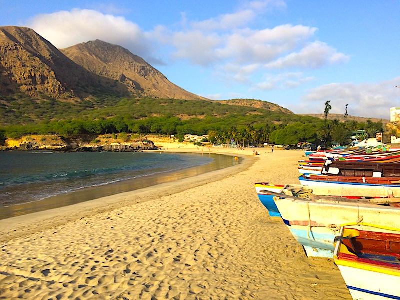 Tarrafal beach Santiago Cape Verde