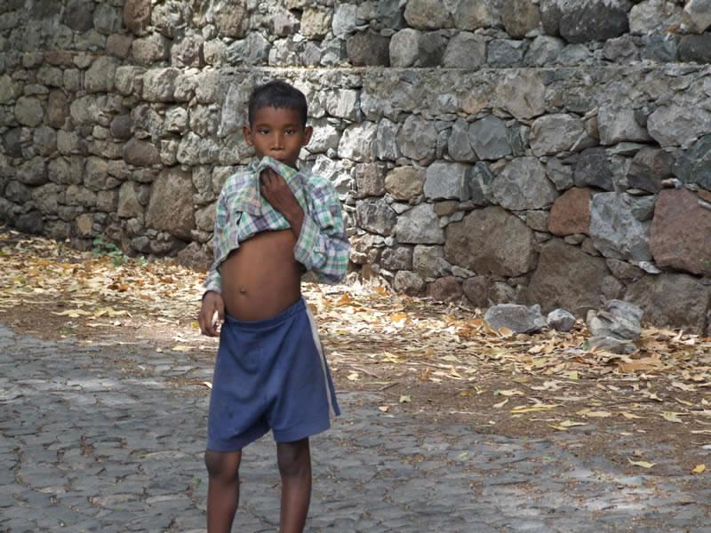 Young boy on Santo Antão