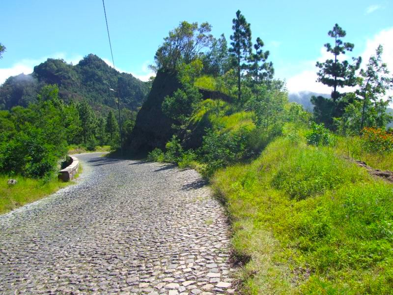 Mountain road Santo Antão