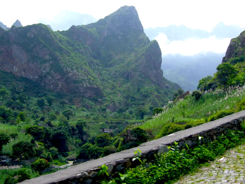 Mountains of Santo Antão
