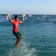 Sal jetty jumping