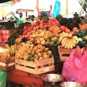 Market in Praia, Cape Verde