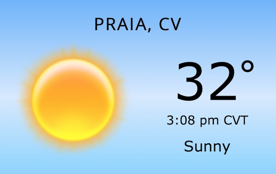 weather today 32C