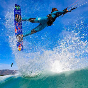 Entertainment in Cape Verde - Kite Surfing