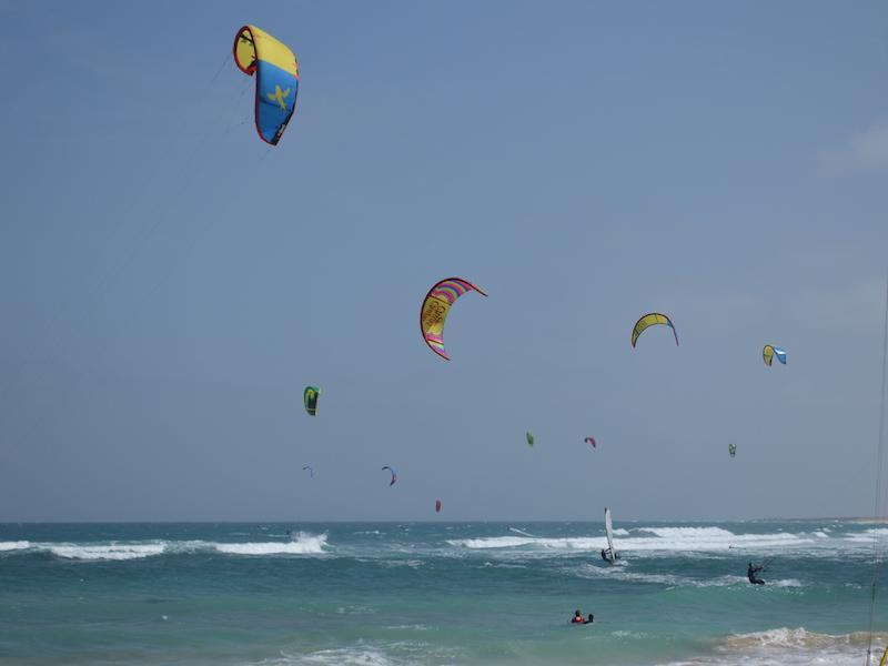 Kite surfing Kite Beach Santa Maria Sal
