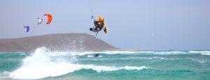 kite surfing sal