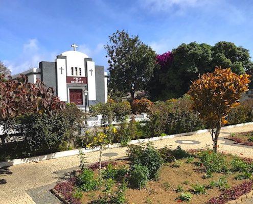 Nova Sintra church Cape Verde