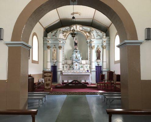 Nova Sintra church Brava Cae Verde