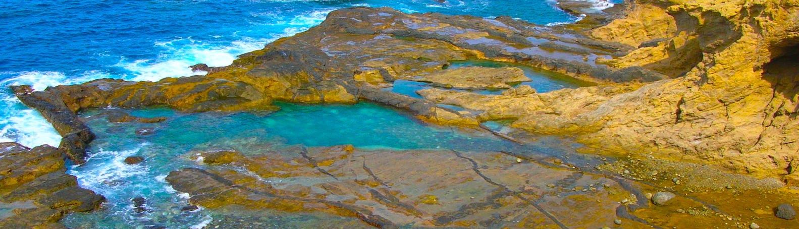 Cape Verde Brava Natural Pools
