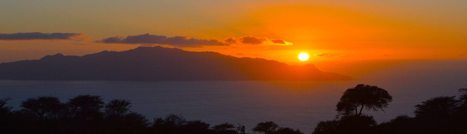 Cape Verde Fogo Island Sunset