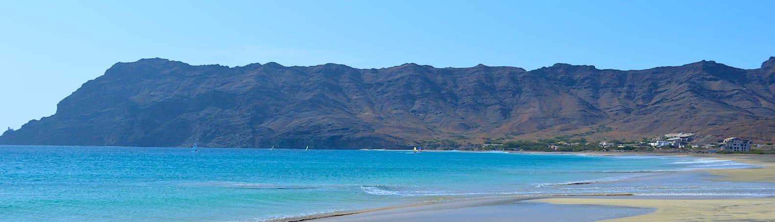 Cape Verde Sao Vicente Sao Pedro Beach
