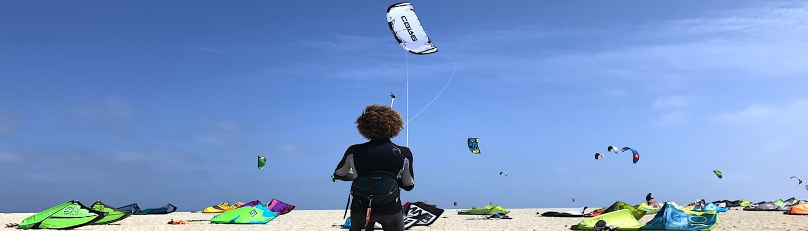 Cape Verde Sal Kite Beach