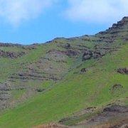 São Vicente's green hills