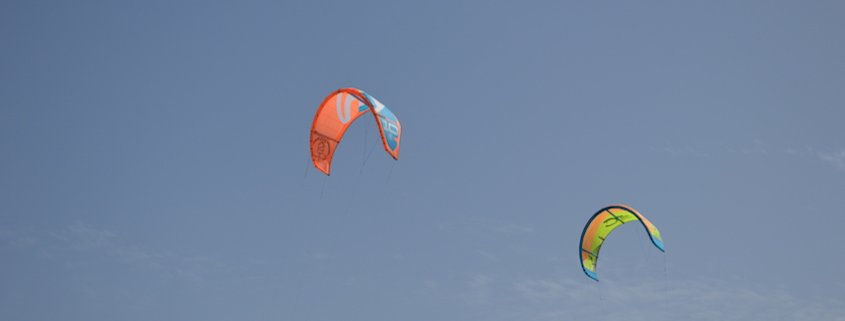 kites flying in cape verde