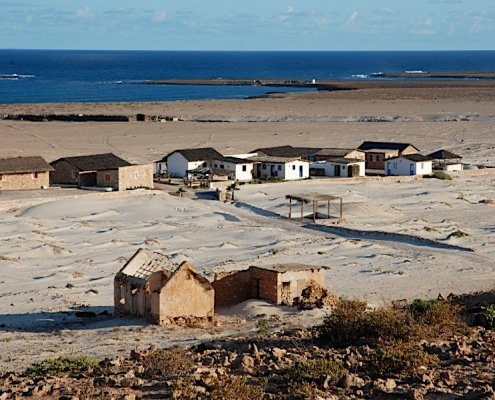 Isolated village on Boa Vista