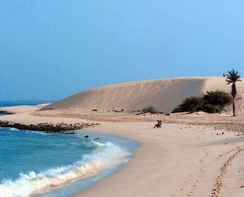 Sand dune on Boa Vista
