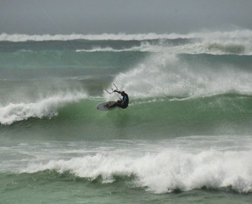 Kite surfing in Boa Vista
