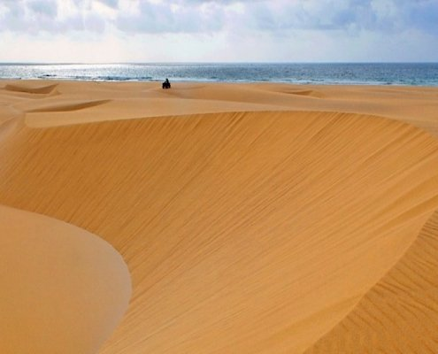 Large sand dune on Boa Vista