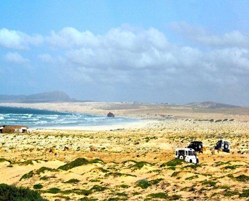 Sand dunes on Boa Vista