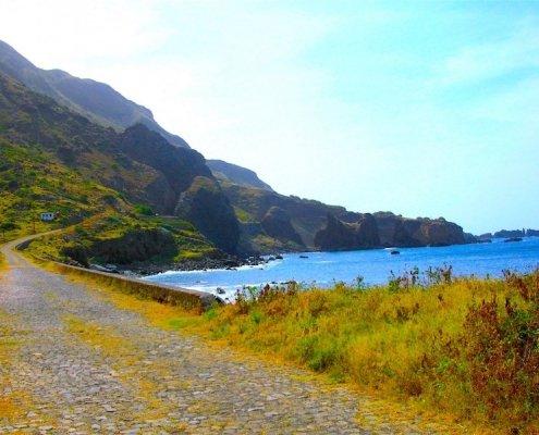 Coastal road Brava
