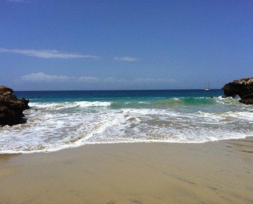 Stella Maris beach Maio Cape Verde
