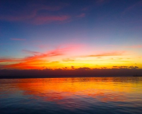 Sunset from Maio Cape Verde