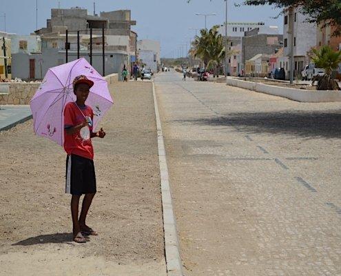 Avenida Amílcar Cabral Porto Inglês Cape Verde