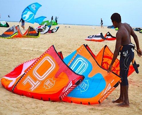 Kite beach Santa Maria Sal Cape Verde
