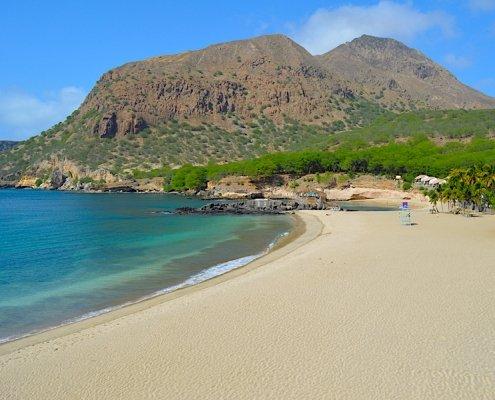 Tarrafal beach, Santiago Cape Verde
