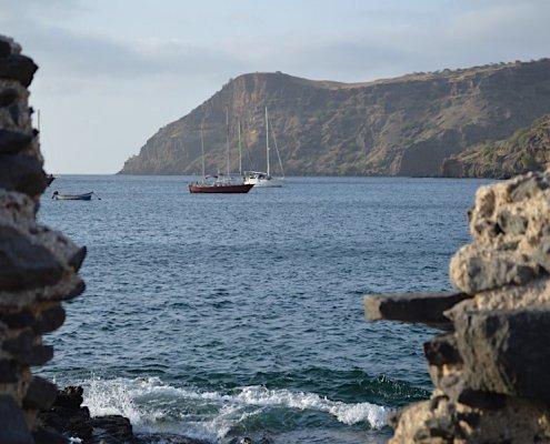 Tarrafal harbour Santiago Cape Verde
