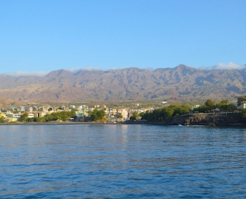 Port Novo on Santo Antao
