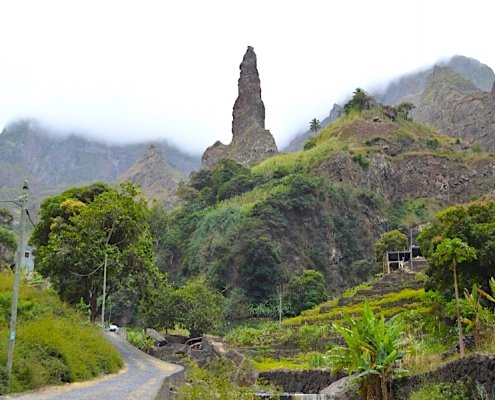 Valley on Santo Antao
