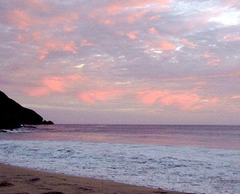 Sunset on São Vicente