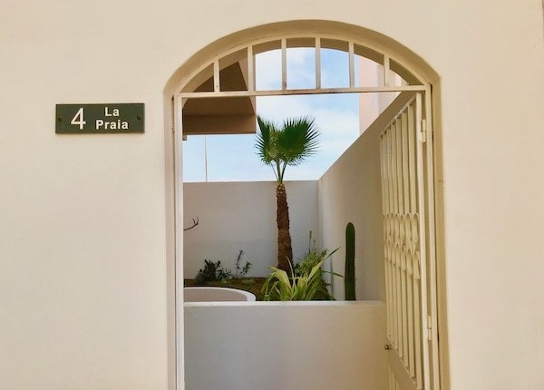 Entrance of property for sale in Santa Maria, Sal