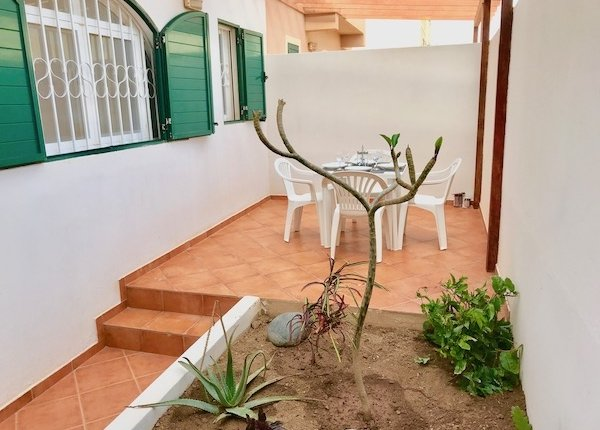 Patio of property for sale in Santa Maria, Sal