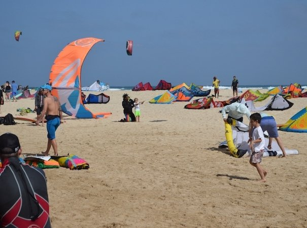 Kite beach near property