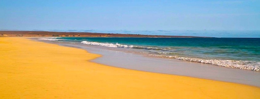 Santa Monica beach, Boa Vista, Cape Verde