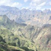Mountains of Santo Antão