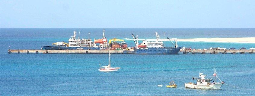 Port Maio island