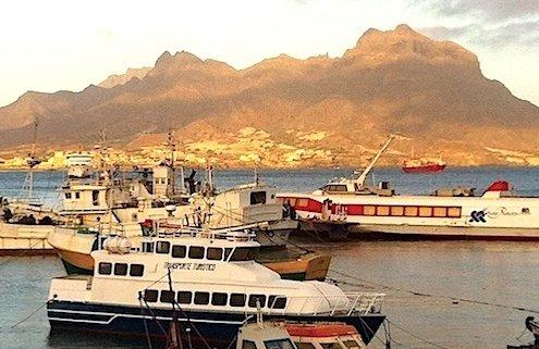 Mindelo Harbour, Sao Vicente