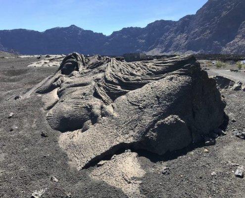 Fogo lava flow